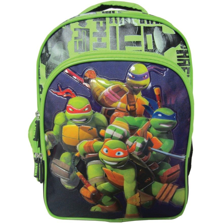 Turtles 40cm Double backpack for Fred Teenage mutant