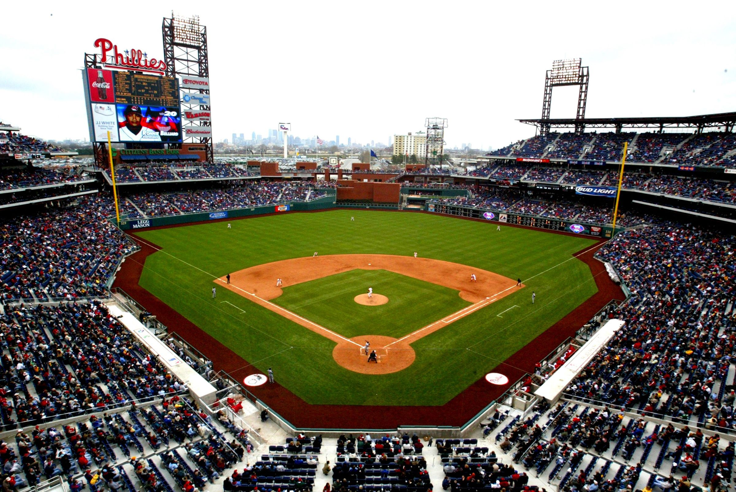 Citizen S Bank Park Located In South Philadelphia Is Home To The Philadelphia Phillies With Images Philadelphia Phillies Philadelphia Phillies