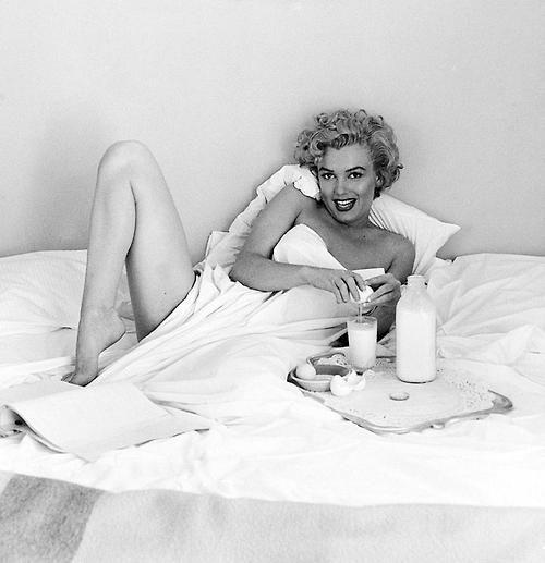 1953: Marilyn Monroe by Andre de Dienes