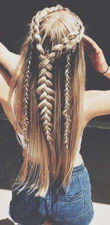 Pinterest Natalyaamiee Braided Hairstyles Really Long Hair Cool Hairstyles