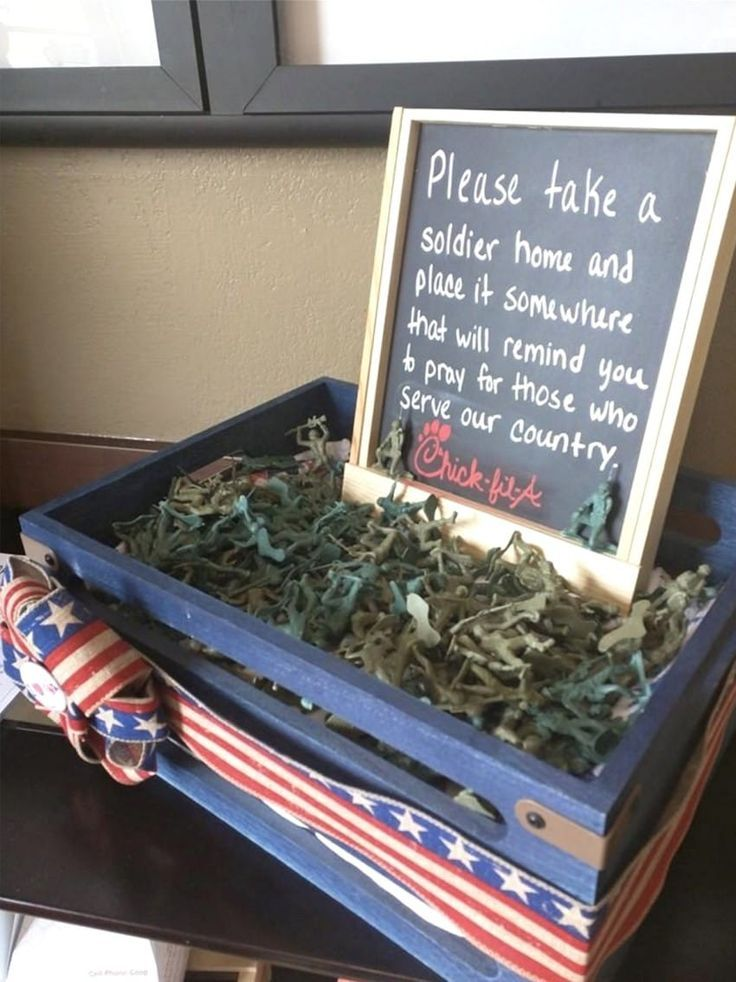 Chick-fil-A Is Giving Away Toy Soldiers To Remind Patrons To Pray For Our Soldiers