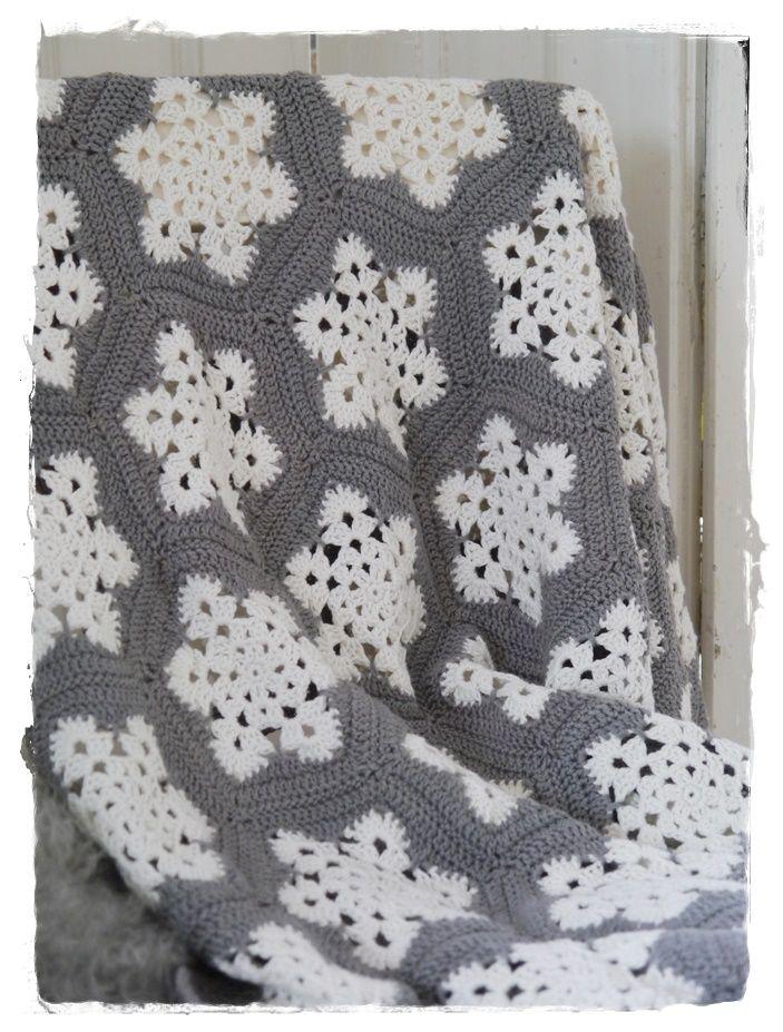 snowflake-plaid | granny squares | Pinterest | Häkeln, Stricken und ...
