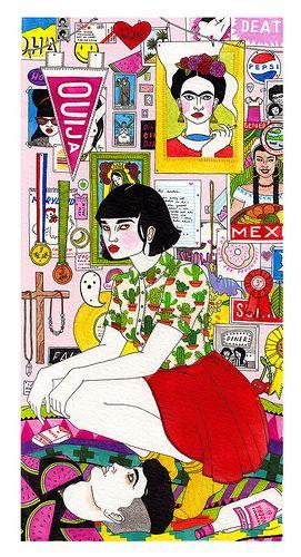 Laura Callaghan. Wall.