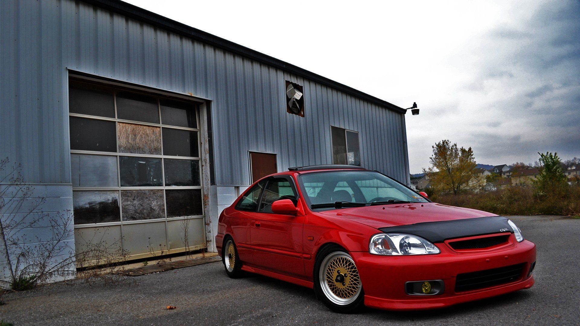 Gold Stance Civic Jdm Authentic Auto Slam Stance, Civic, Jdm, Auto) Via Www.