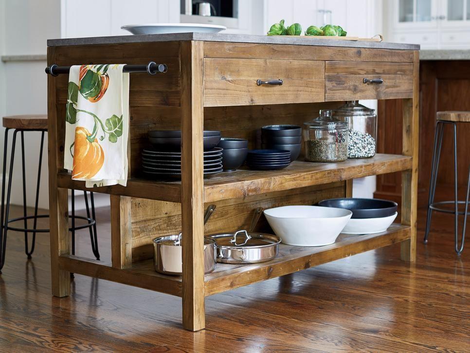 14 Creative Kitchen Islands and Carts Space saving kitchen, Hgtv