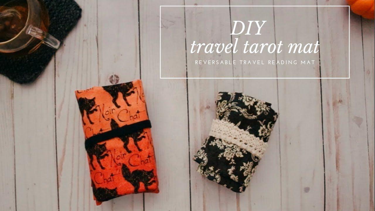 Diy Travel Tarot Mat Travel Diy Diy Tarot Cards Tarot