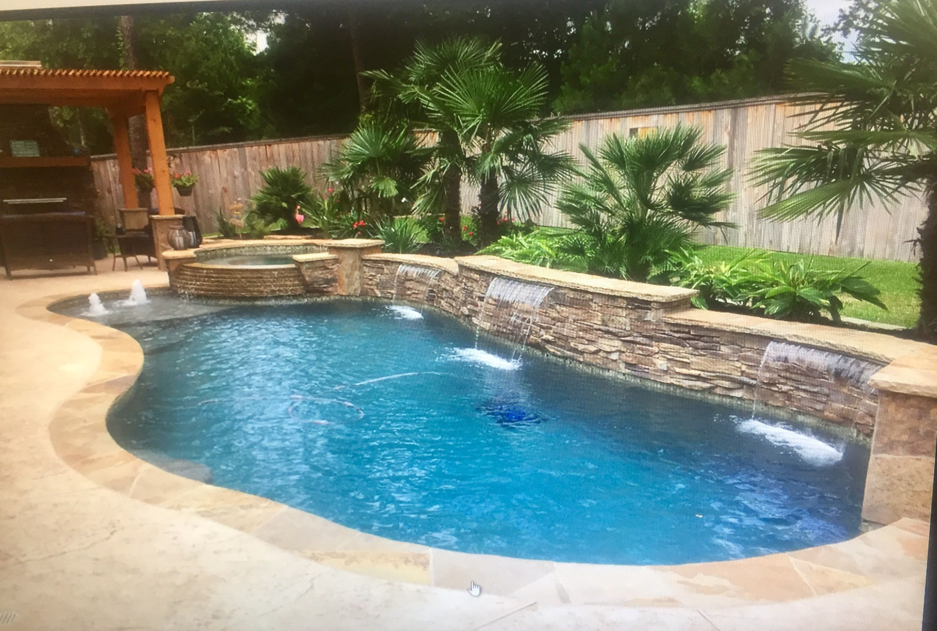 Average Cost Of An Inground Swimming Pool Average Cost Inground Pool Pool Backya Pools Backyard Inground Backyard Pool Landscaping Swimming Pools Inground