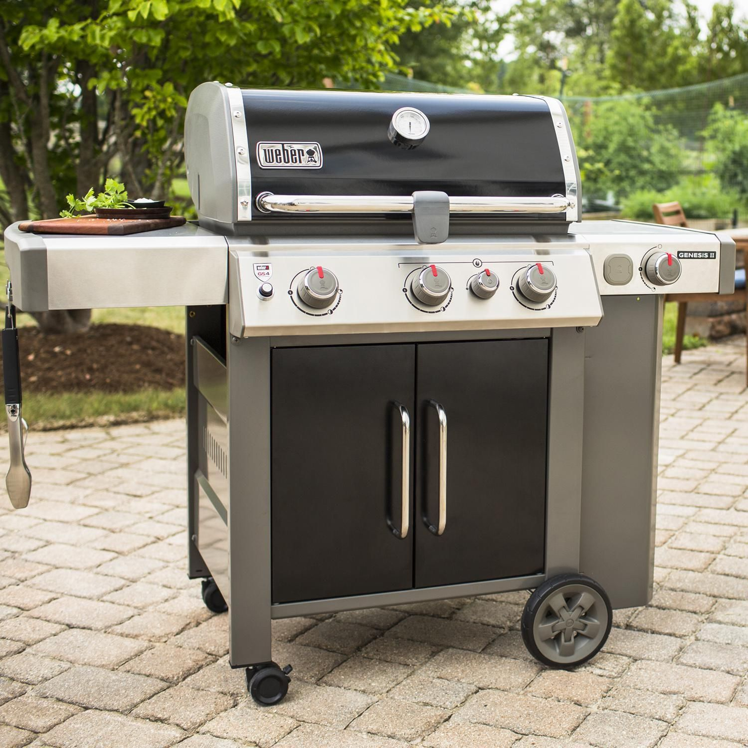 The 2019 Weber Genesis Ii Gas Grill Raises The Standard In Backyard Grilling With The Gs4 High Performance Grilling S In 2020 Propane Gas Grill Gas Grill Propane Grill