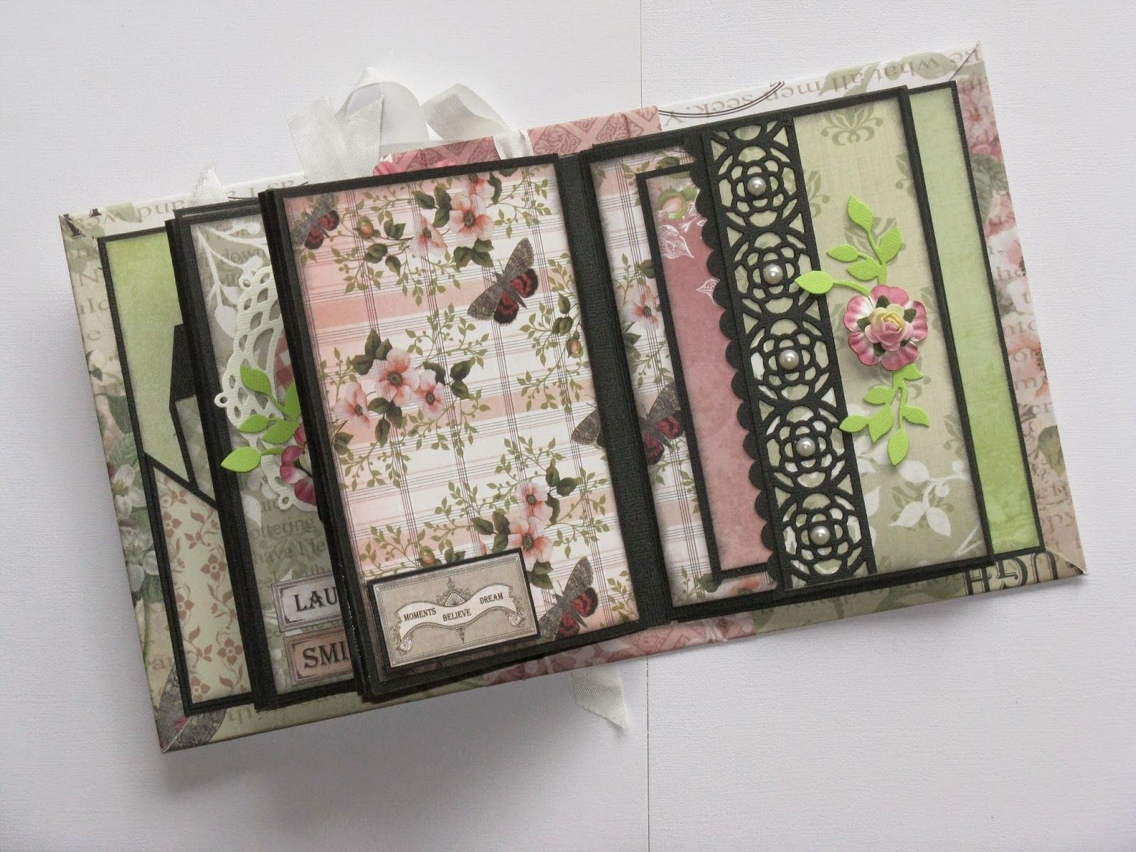 Rose Garden Creations: Couture Creations: Vintage Rose Garden Mini Album By Jo