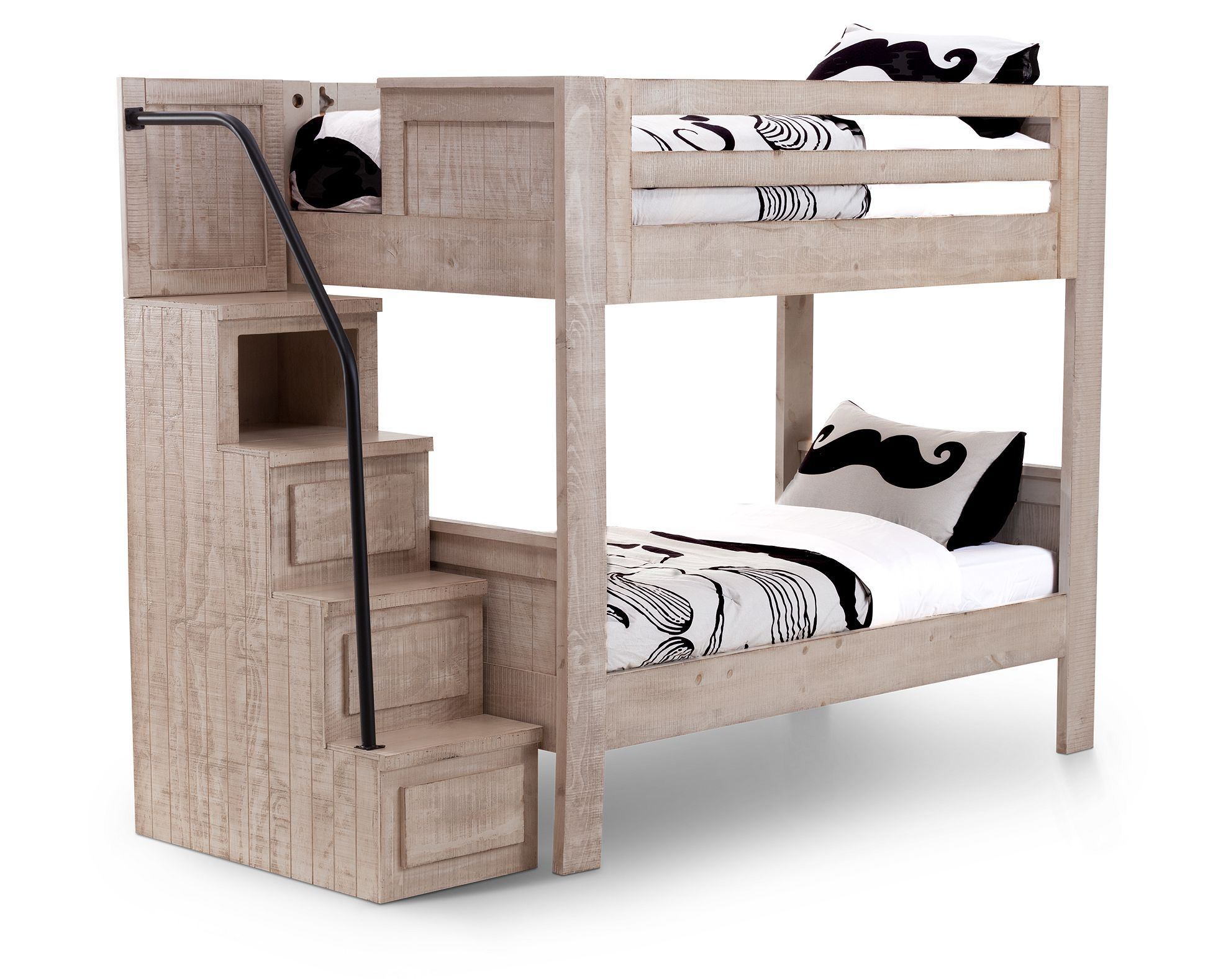 Beds Bristol Valley Bunk Bed With Stairs Stack Up On Country Styling Bunk Beds Bunk Beds With Stairs Bed