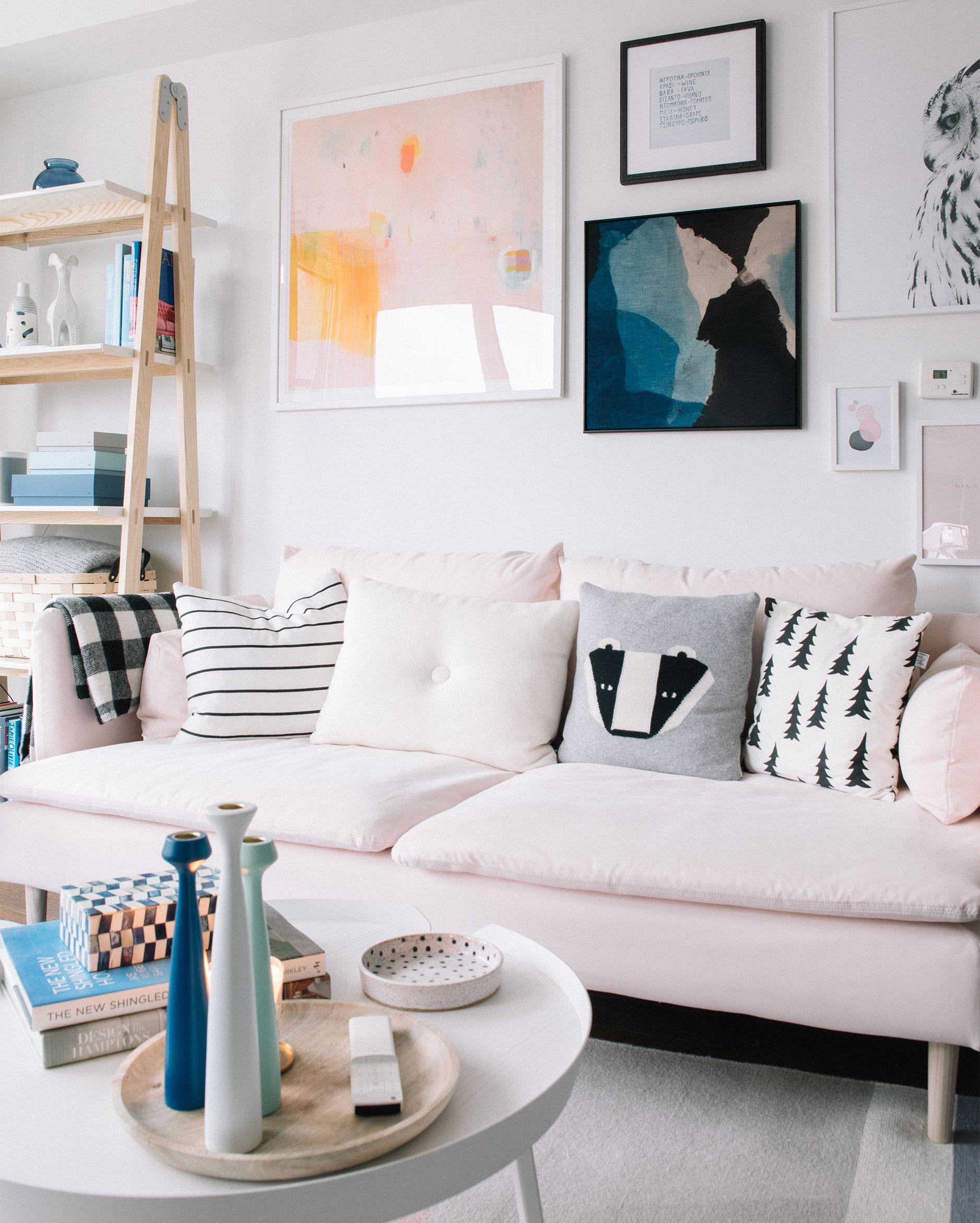 Millennial Pink Decorating Ideas From My Living Room Pink Sofa