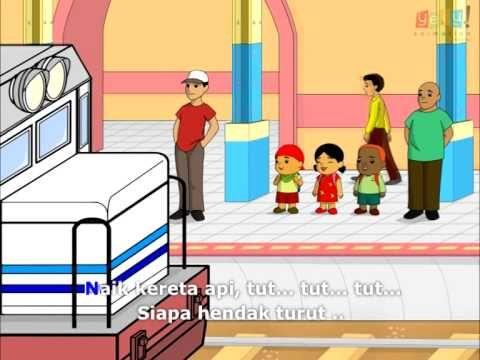 Pin Di Video Animasi Lagu Anak Nasional