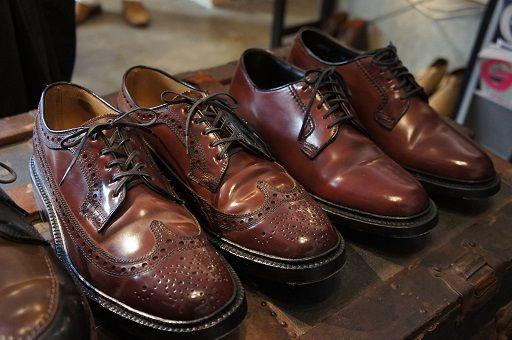 Alden cordovan shoes
