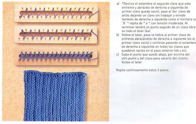 Loom Stitch The Instructions Are In Spanish But Look Closely At