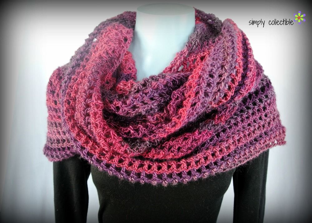 Coraline in the Wine Country Crochet Shawl Pattern | Chal, Gorros y ...