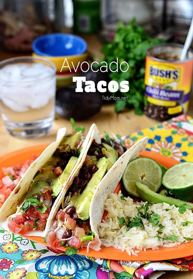 Avocado Tacos and a Mountain Home Getaway Weekend | Beans ...