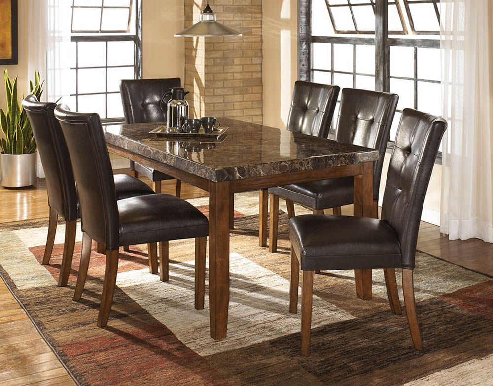 Lacey Rectangular Dining Room Table Ashley Dining Table