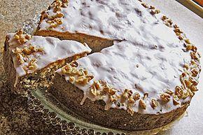 Apfel - Walnusskuchen #apfelcupcakes