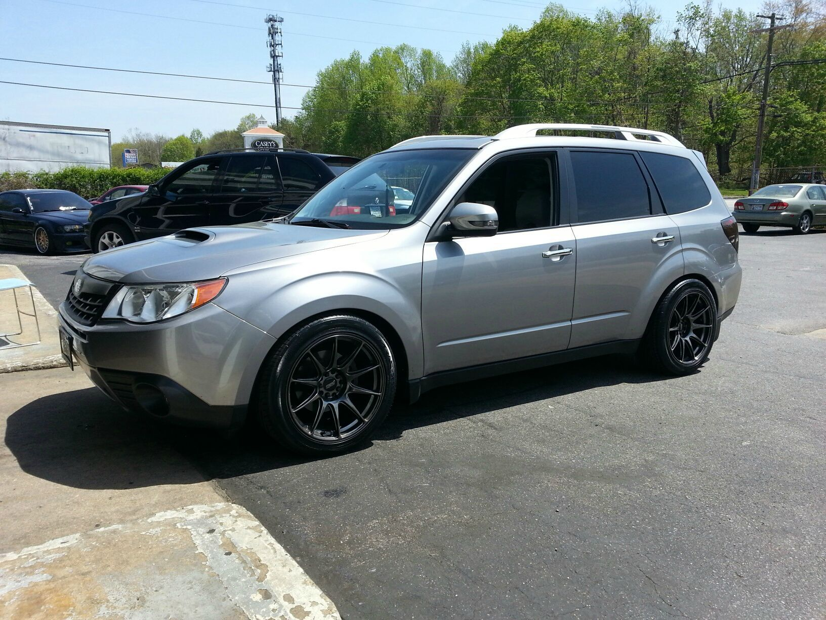 Forester sh xt subaru pinterest subaru subaru forester and cars suspension bc br forester coilovers wheel manufacturer xxr wheel model 527 diameter 18 width offset tire size stretched issues slight rubbing in vanachro Gallery