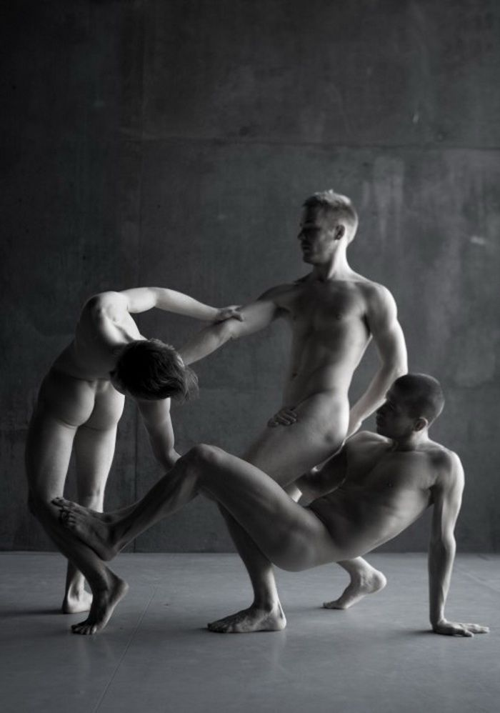 Answer Naked ballet black men consider