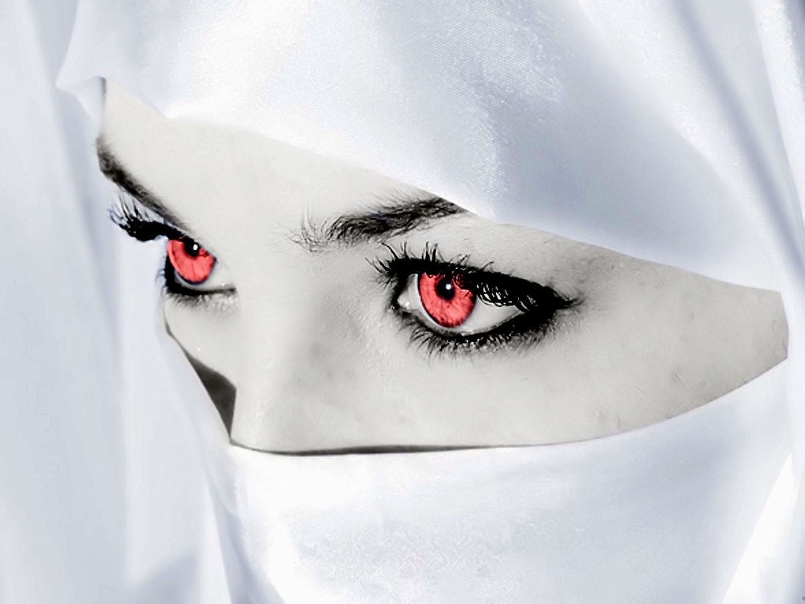 Eyes Free Download High Quality Red Eyes Veiled Woman Eyes