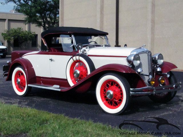 1931 Chrysler Cm6 Roadster Image 1 Of 50 My Dream Garage