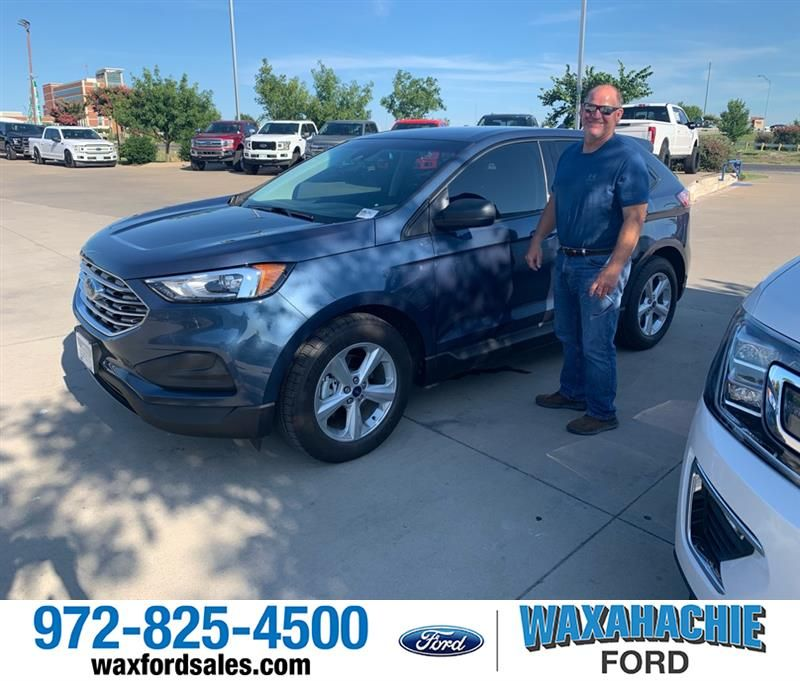 Congratulations Doug On Your Ford Edge From Justin Bowers At