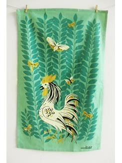 spring-chiken towel