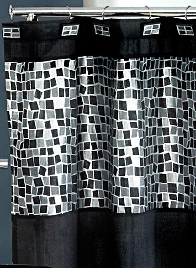 Mosiac 13 Piece Shower Curtain Set