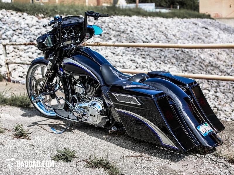 Baggers Brad S Street Glide Bad Dad Custom Bagger Parts For Your Bagger Custom Baggers Harley Davidson Baggers Harley Bagger
