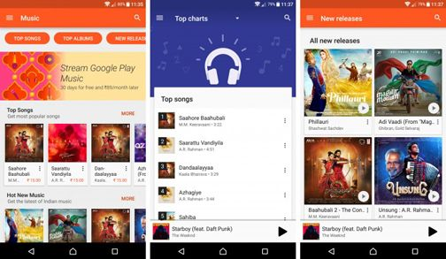 Wynk is a Hindi music streaming service app provided by