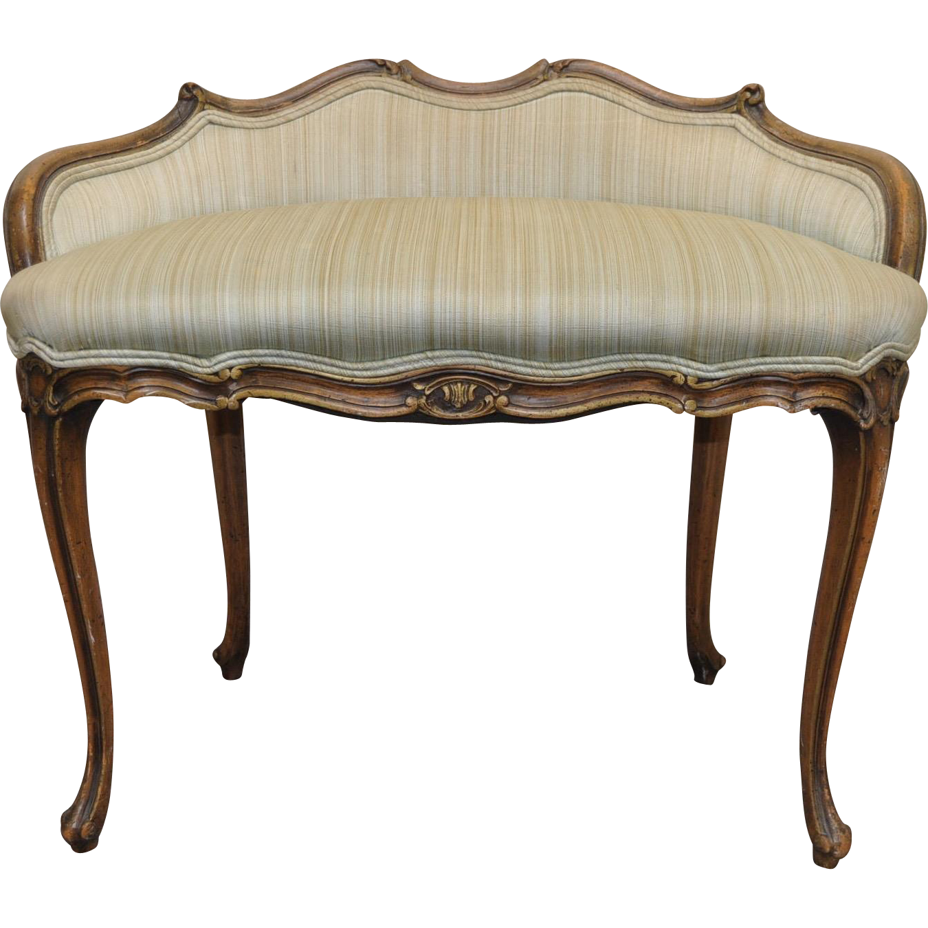 Awe Inspiring French Provincial Vanity Settee C 1920S Dina In 2019 Gamerscity Chair Design For Home Gamerscityorg