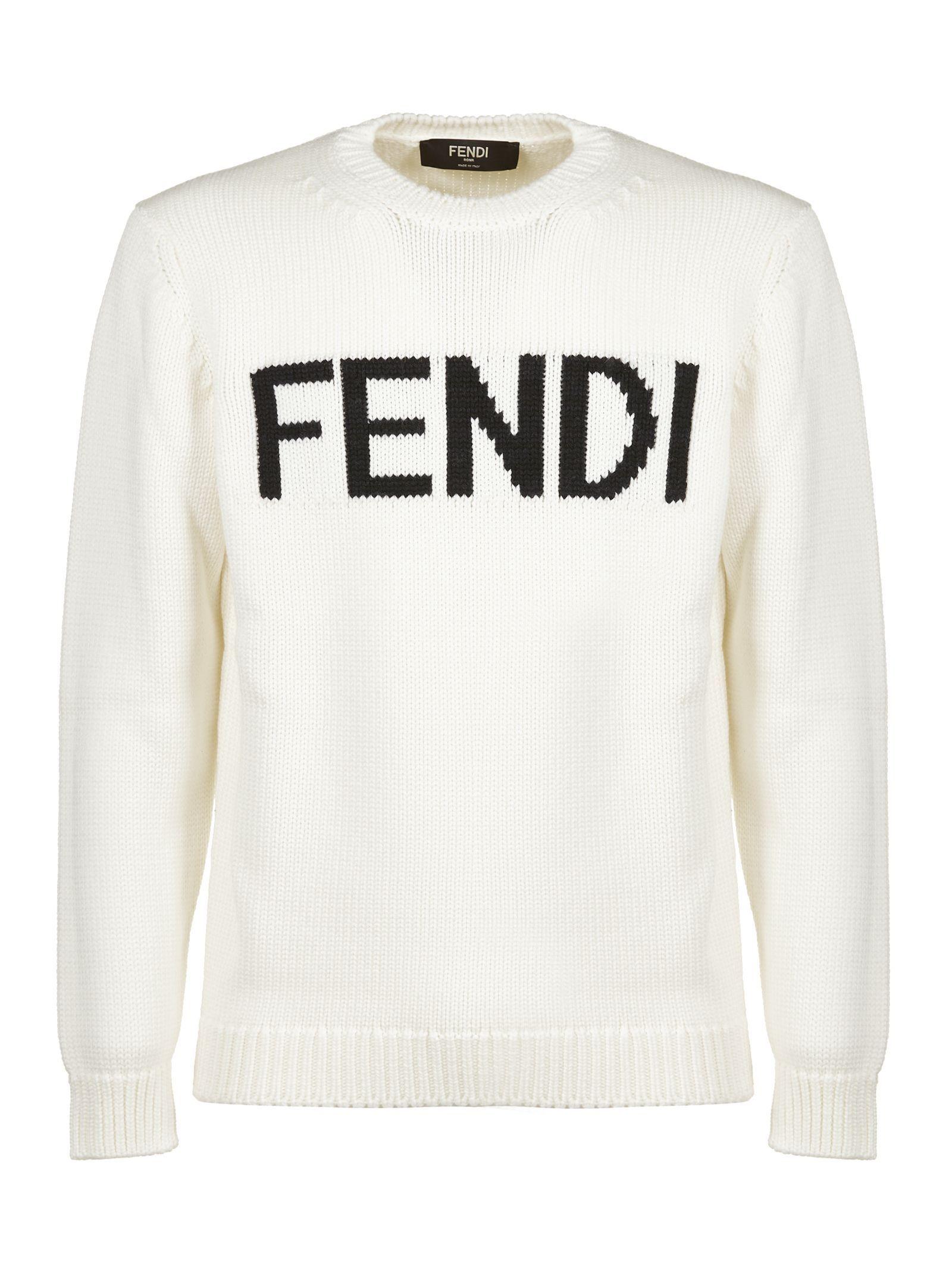 8672a8b434dd FENDI LOGO SWEATER.  fendi  cloth