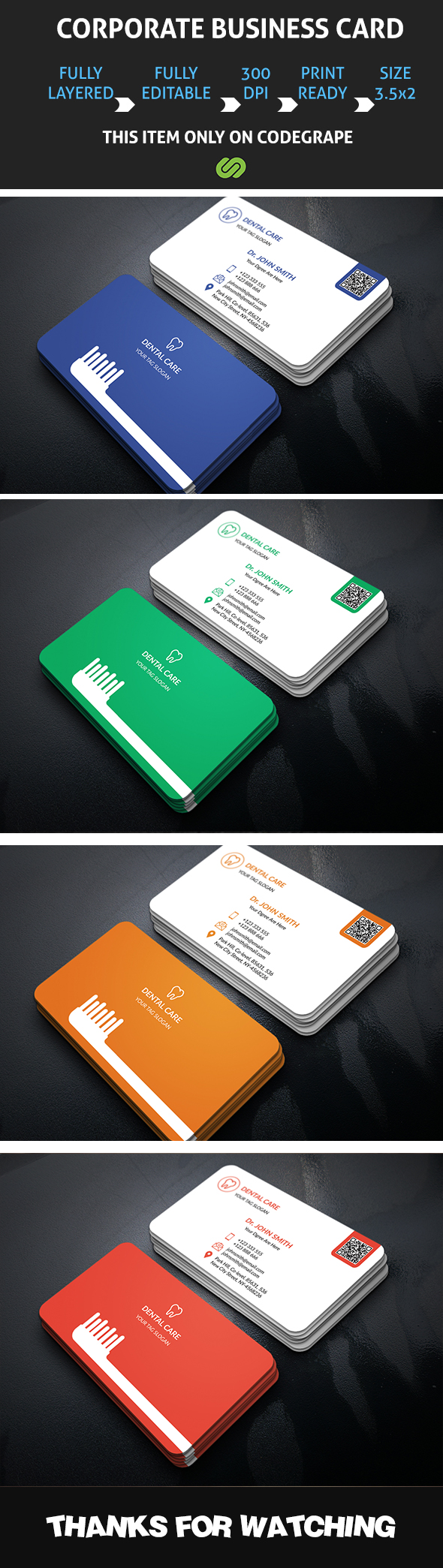 Dental business card dental business cards dental and business cards dental business card reheart Choice Image