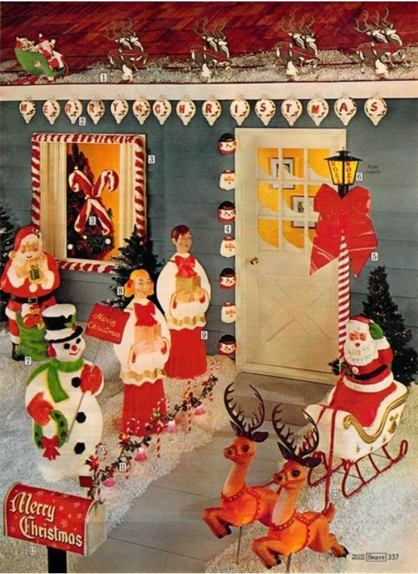 sears catalog christmas decorations - Sears Christmas Decorations