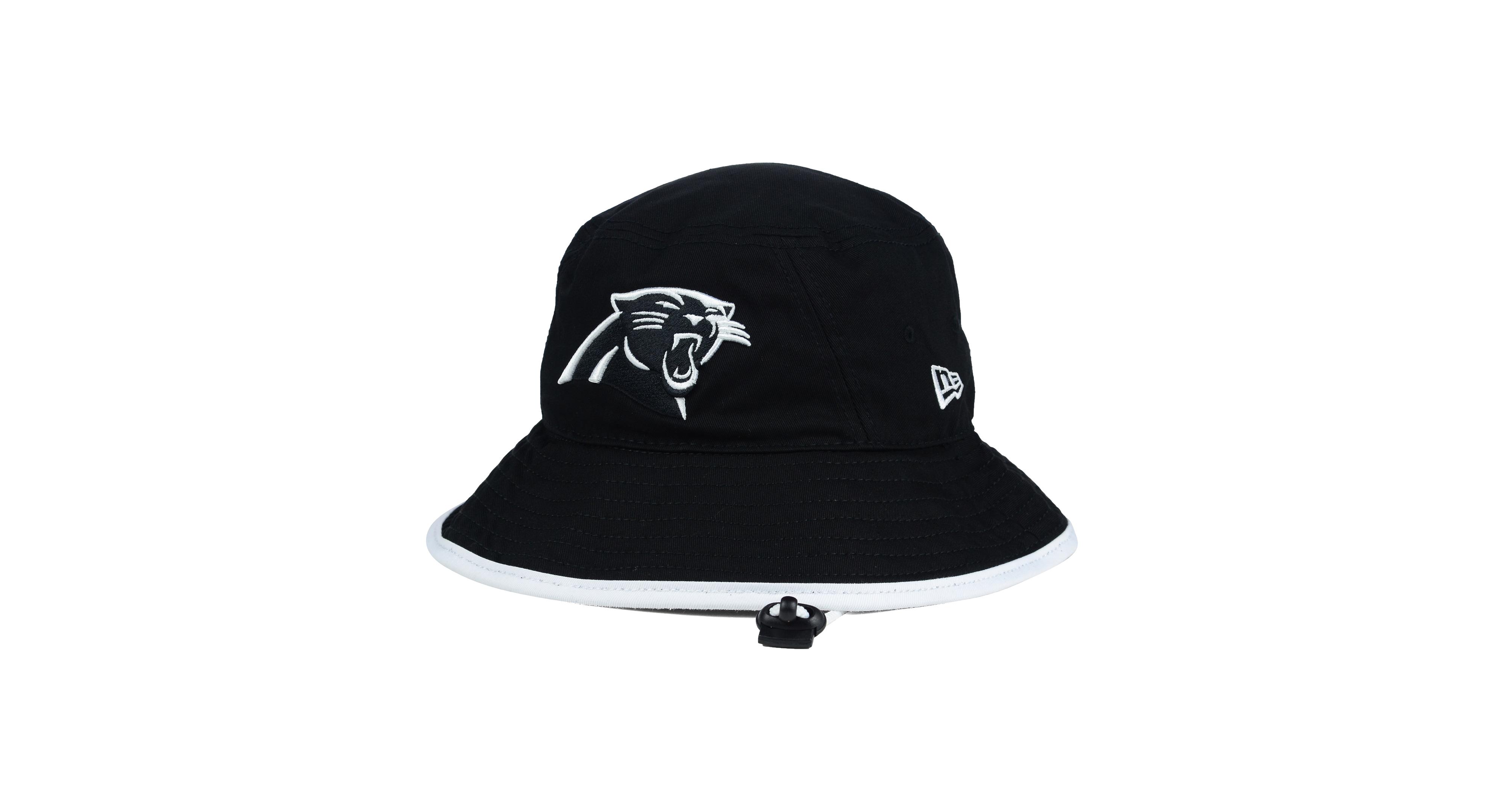 uk availability a2a91 e1306 ... inexpensive new era carolina panthers nfl black white bucket hat 50f40  4bd79