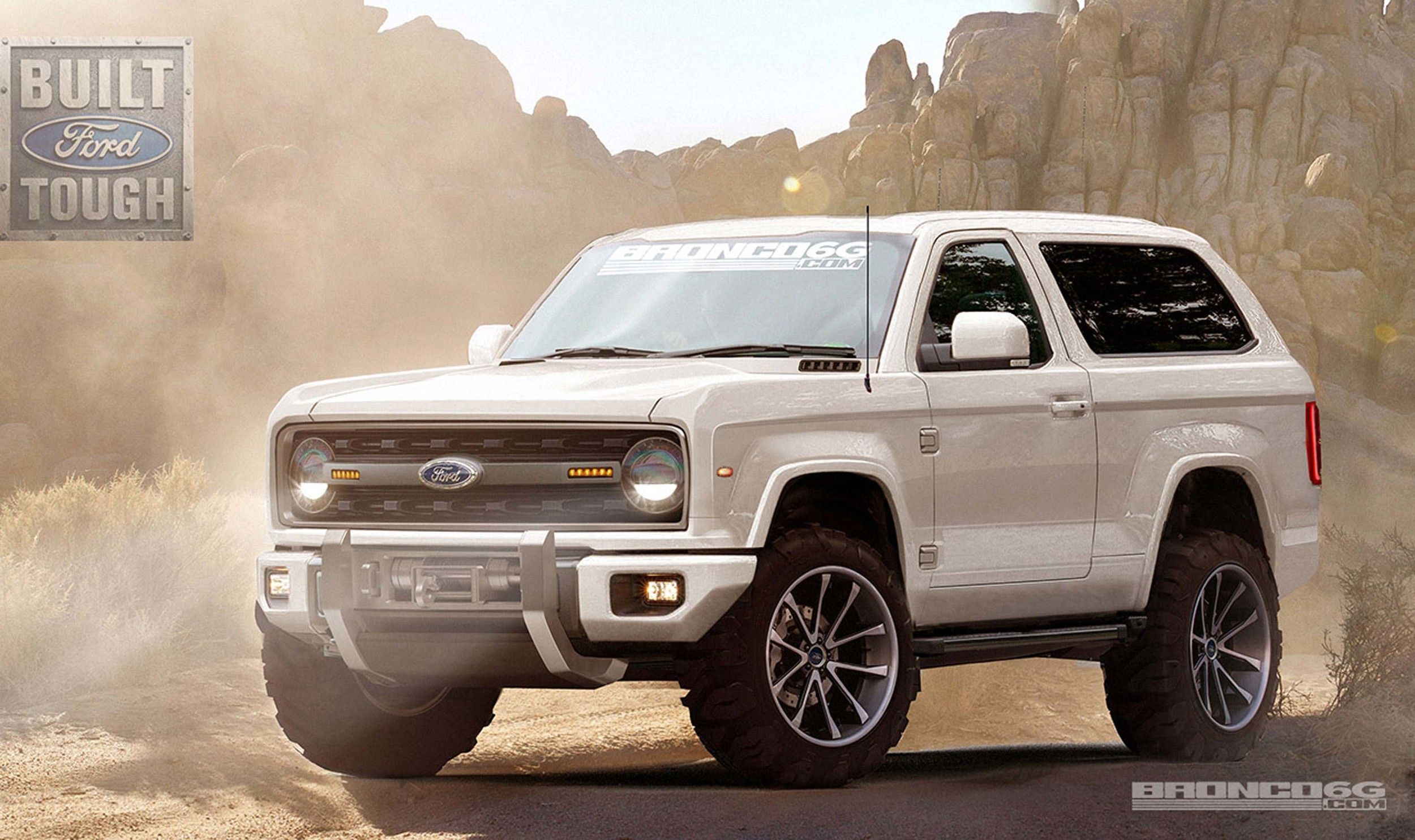 2020 Ford Bronco Concept By Bronco6g Com 2500 X 1484 With