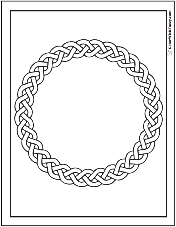 90 Celtic Coloring Pages Irish, Scottish, Gaelic