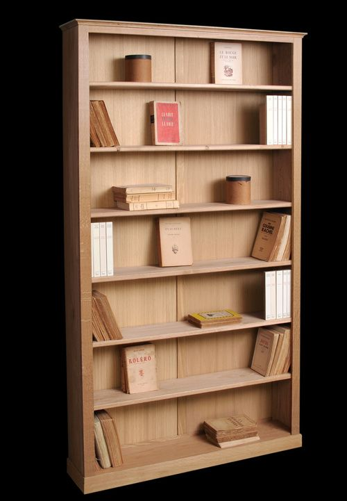 Bibliotheque Faible Profondeur Clement Bibliotheque Chene Bibliotheque Etagere Livre De Poche