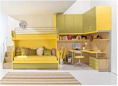 5 dormitorios juveniles modernos dormitorios juveniles for Dormitorios juveniles compactos modernos