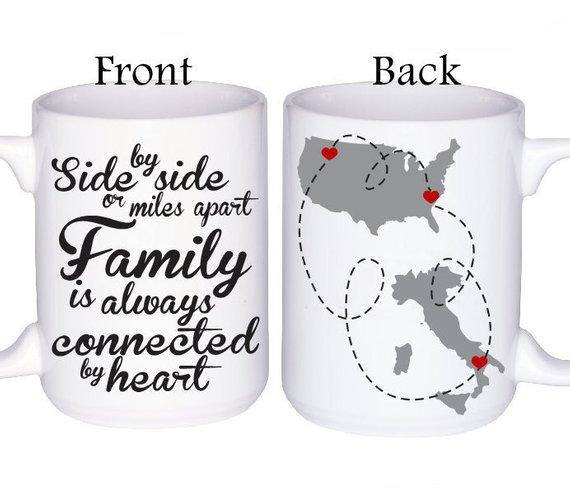 208ac2e7bb8 Family Mugs - Family Gift Idea - Personalized Mugs - Gift For Family ...