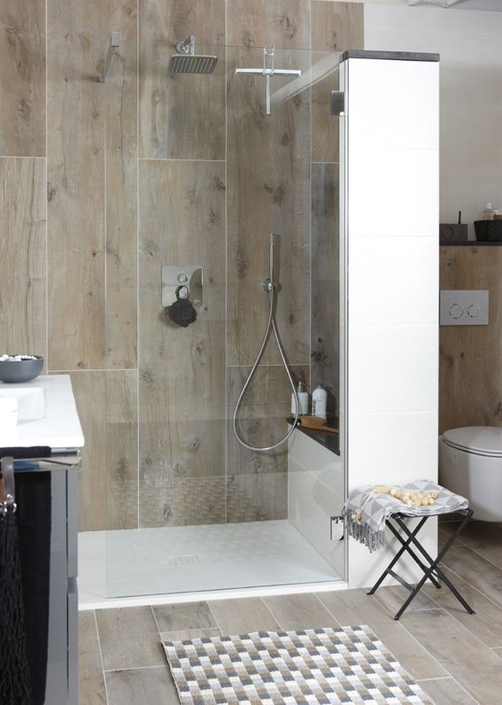 Inloopdouche in complete badkamer Mix & Match Baden+ | Bathrooms I ...