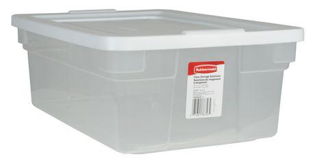 Rubbermaid 11 3 L Storage Container Plastic Box Storage Storage