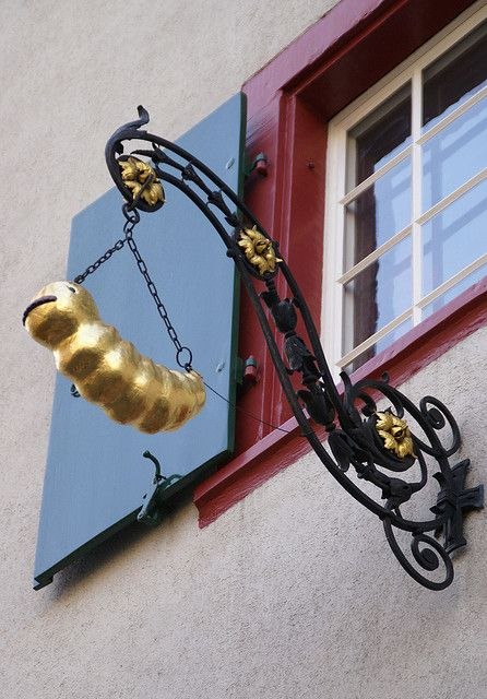 Basel, Klosterberg, Haus zum Holzwurm (house of the wood