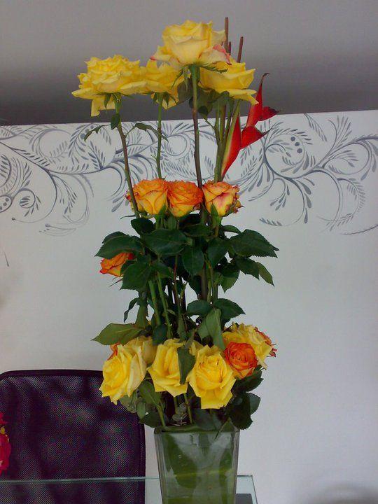 Las las rosas amarillas simbolizan amistad, deseos de pronta recuperación, felicitaciones y disculpas.