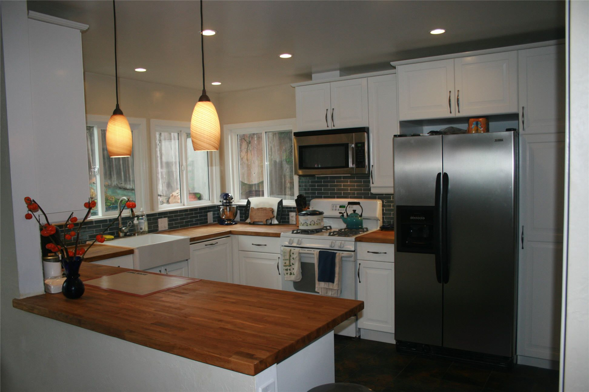 Butcher block kitchen countertops building plans now everythinga for