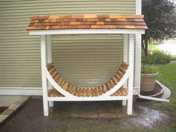 Firewood Storage Rack By Rick Smith Via Behance Plansoutdoor