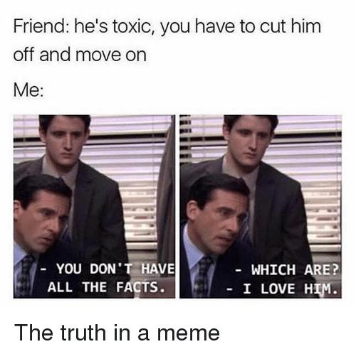 Toxic Relationship Meme Baby