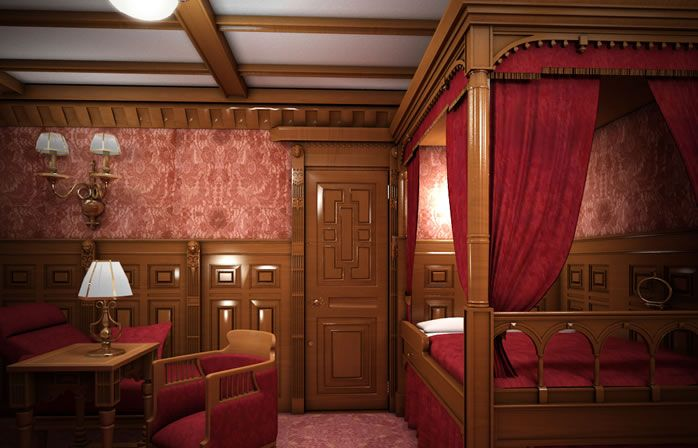 First class stateroom titanic ii titanic pinterest Who was on the titanic in first class
