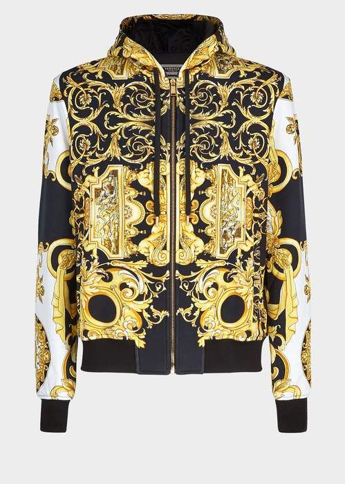 906149b696 Versace Barocco SS'92 Tribute Hoodie | vetement en 2019 | Vetements ...